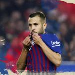 El cartel de la renovación de Jordi Alba (FC Barcelona)