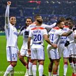 Jugadores del Olympique de Lyon / Facebook.
