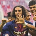 Cucurella y Aleñá / FC Barcelona.