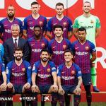 Plantilla del FC Barcelona 2018-19 / Facebook.