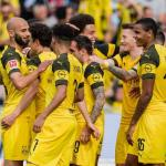 Jugadores del Borussia Dortmund celebran un gol / Facebook.