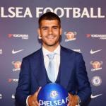 Morata, el día de su llegada al Bridge (Chelsea FC)