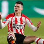 Hirving Lozano, en un partido del PSV Eindhoven / Getty.