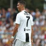 Cristiano, con la Juventus (Getty)