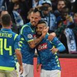 Jugadores del Nápoles celebrando un gol / Depor