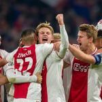 Jugadores del Ajax celebran un gol / Depor