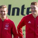 De Jong y De Ligt entrenando con el Ajax (ProShots)