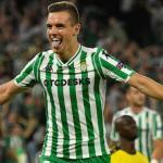 Lo Celso celebra un gol / Real Betis