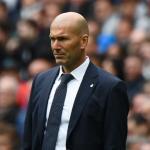 Zidane en un partido / Real Madrid
