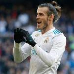 Bale celebra un gol con el cuadro blanco (Real Madrid)