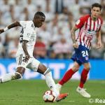 Vinícius, ante el Atlético (Real Madrid)