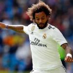 Marcelo, con el conjunto blanco (Real Madrid)