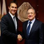 Lopetegui y Florentino, el día del fichaje del técnico vasco (Real Madrid)