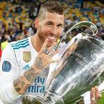 Ramos, con una de las útlimas Champions (Real Madrid)
