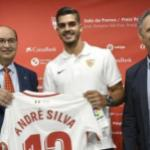 Castro, Silva y Caparrós / Sevilla FC.