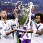 Ramos y Marcelo, con la última Champions (Real Madrid)