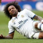 Marcelo, durante un partido en que se lesionó (Real Madrid)