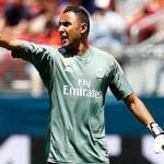Keylor Navas / Real Madrid.