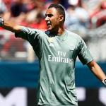 Keylor Navas en un partido con el Real Madrid / Real Madrid