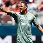 Keylor Navas, durante un partido (Real Madrid)