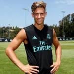 Marcos Llorente, en el campo de entrenamiento (Real Madrid)