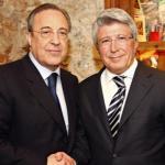 Florentino Pérez y Enrique Cerezo / Atlético de Madrid.