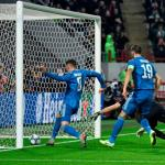 Ramsey anotando su gol con la Juventus. / viapais.com.ar