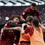 Jugadores del AC Milan celebran una victoria / AC Milan