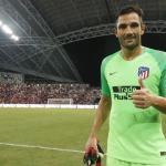 Antonio Adán deja en el aire su renovación con el Atlético