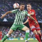 """Una nueva opción para el lateral izquierdo del Betis: Adrià Pedrosa """"Foto: TUDN.com"""""""