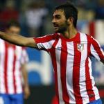 Adrián López celebra un gol en el Calderón/lainformacion.com/Europa Press