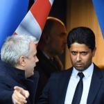 Al-Khelaïfi, con el PSG (EFE)