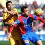 Suárez y Toño, durante un partido (EFE)