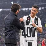 Agnelli, con Cristiano Ronaldo (Real Madrid)