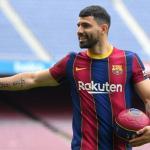 El entorno de Agüero desmiente que quiera salir del Barça - Foto: Diario AS
