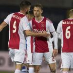 Ajax, en un partido de este curso / twitter