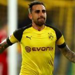 Paco Alcácer en un partido con el Borussia Dortmund. / es.sports.yahoo.com