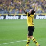 Paco Alcácer, celebrando un gol / twitter
