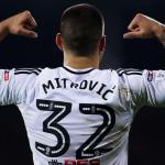 Aleksandar Mitrovic, celebrando un gol con el Fulham. Foto: Skysports