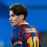 Álex Collado, ¿al primer equipo o venta? Foto: culemania.com