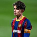 """¿Tiene Collado nivel para el FC Barcelona? """"Foto: Twitter"""""""