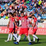 Álvaro Giménez, con el Almería / Twitter