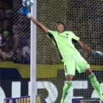 Andrada salvó a Boca en el partido decisivo.