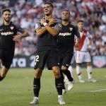 André Silva celebrando un gol con el Sevilla / rtve.es