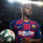 """¿Vuelta al falso 9 con Ansu Fati en Barcelona? """"Foto: FCB Noticias"""""""
