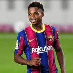 La grave crisis económica del Barça podría provocar la venta de Ansu Fati. Foto: AP