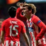 Griezmann celebra un gol con el Atlético / Atlético