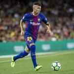 Munir en un partido con el Barça / Foto: FC Barcelona