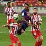 Los señalados por Quique Setién en el empate contra el Atlético | FOTO: ATLÉTICO