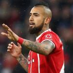Arturo Vidal con la camiseta del Bayern / express.co.uk